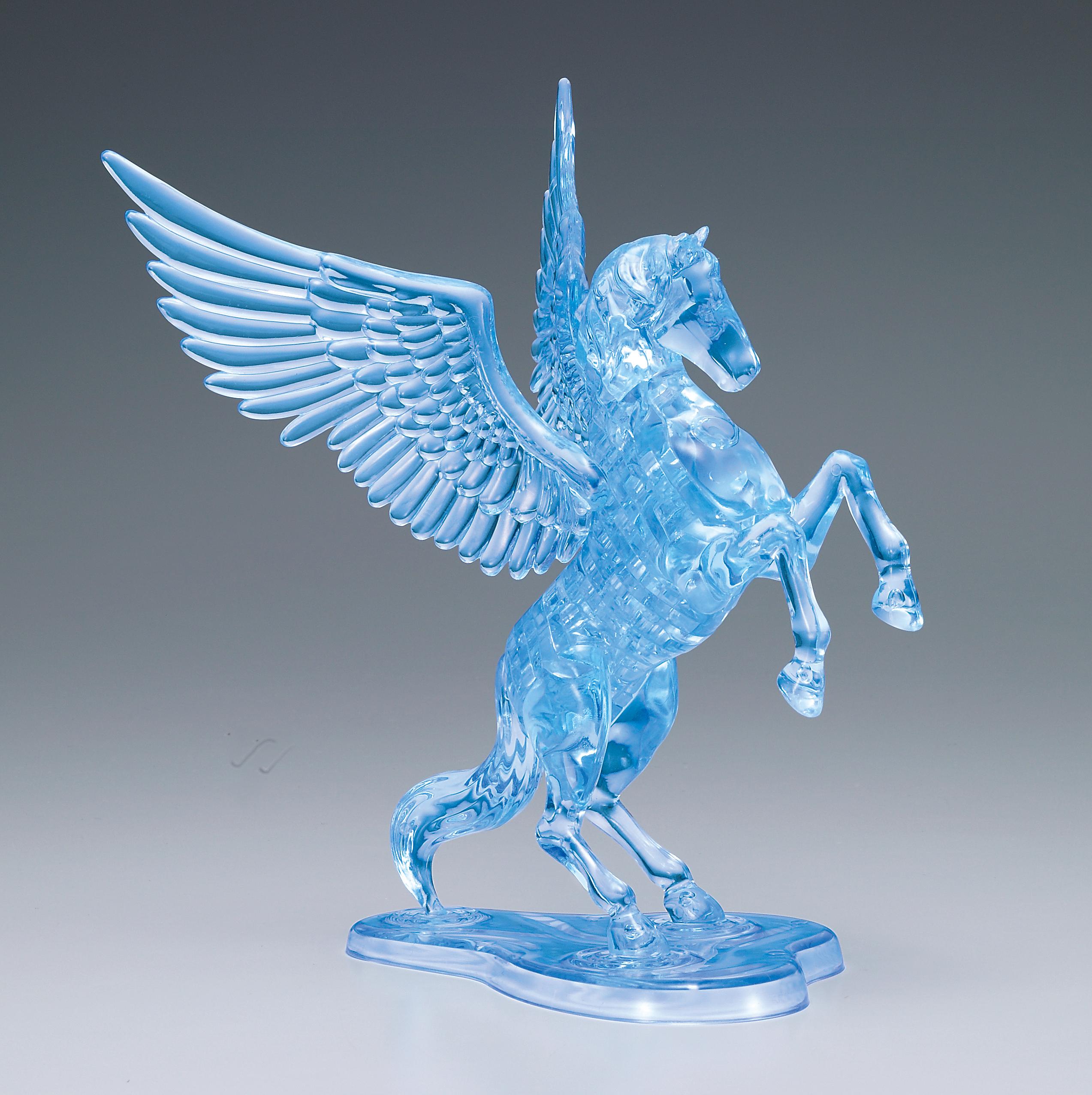 Flying Horse - Blue